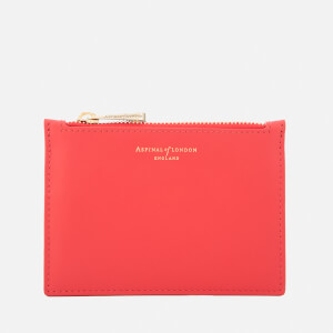 Aspinal of London Women's Essential Pouch Small - Dahlia