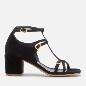 Hudson London Women's Freja Suede Heeled Sandals - Black