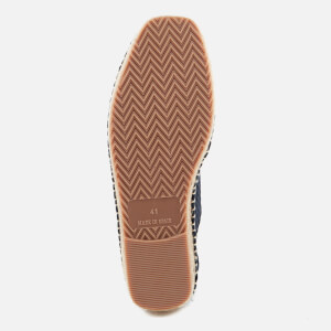 Hudson London Men's Benson Mesh Espadrilles - Navy: Image 5
