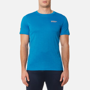 Superdry Sport Men's Active Training T-Shirt - Turquiose