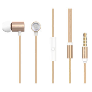 Le Cord GLD01 Earphones - Metallic
