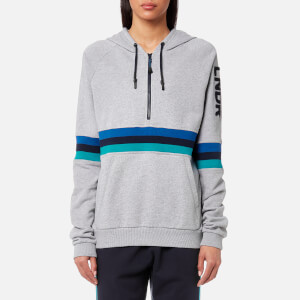 LNDR Women's Antics Stripe Hoody - Grey Marl