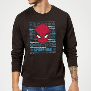 Marvel Comics The Amazing Spider-Man Kersttrui - Zwart