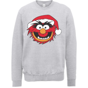 Disney The Muppets Animal Grey Christmas Sweatshirt