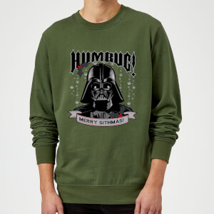 Star Wars Darth Vader Merry Sithmas Green Christmas Sweatshirt
