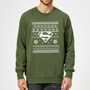 Pull de Noël Homme DC Comics Superman - Vert