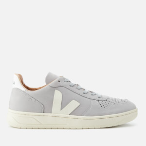 Veja Men's V-10 Bastille Nubuck Oxford Trainers - Oxford Grey