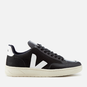 Veja Men's V-12 B-mesh Trainers - Black/White