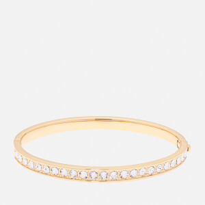 Ted Baker Women's Clemara: Hinge Swarovski Crystal Bangle - Gold/Crystal
