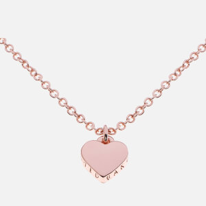 Ted Baker Women's Hara Tiny Heart Pendant Necklace - Rose Gold