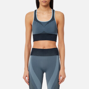 Varley Women's Barker Sports Bra - Blue Multi Jacquard