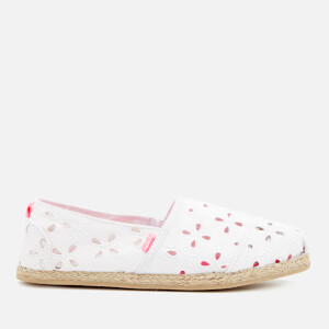 Superdry Women's Jetstream Espadrilles - White Broderie