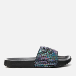 Superdry Women's Superdry Pool Slide Sandals - Petrol Snake: Image 2