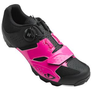 Giro Cylinder Women's MTB Cycling Shoes - Bright Pink/Black