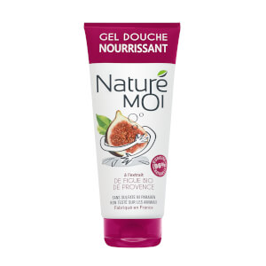 NATURE MOI Nourishing Shower Gel with Fig of Provence