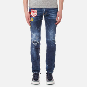 Dsquared2 Men's Cool Guy Patch Detail Jeans - Navy
