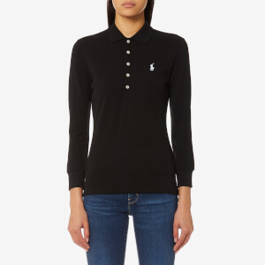 Polo Ralph Lauren Women's Julie Long Sleeve Top - Black