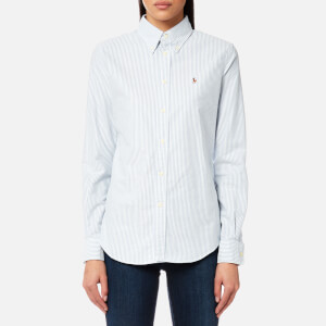 Polo Ralph Lauren Women's Harpeer Shirt - Blue/White