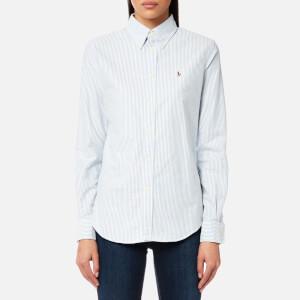 Polo Ralph Lauren Women's Harper Shirt - Blue/White