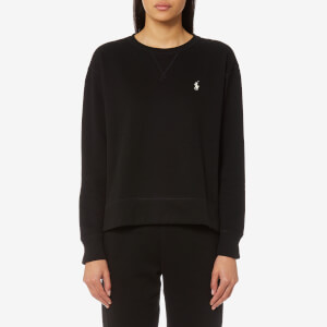 Polo Ralph Lauren Women's Crew Neck Sweatshirt - Black