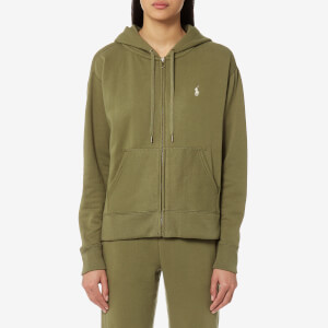 Polo Ralph Lauren Women's Hooded Sweatshirt - Olive