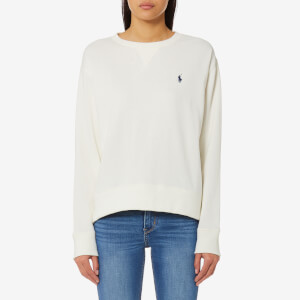 Polo Ralph Lauren Women's Crew Neck Sweatshirt - Cream