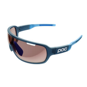 POC DO Blade Clarity Sunglasses - Lead Blue Translucent