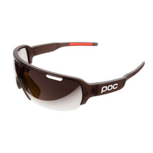 POC DO Half Blade Clarity Sunglasses - Propylene Red Translucent