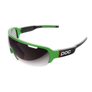 POC DO Half Blade Clarity Sunglasses - Cannondale Green/Uranium Black