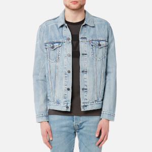 Levi's Men's The Trucker Jacket - Rolled Up Dollar Trucker