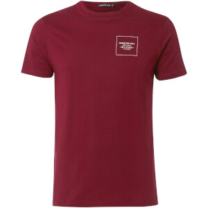 T-Shirt Homme Hakata Friend or Faux - Bordeaux