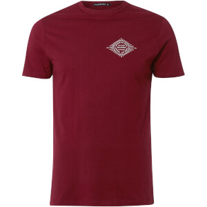 Friend or Faux Men's Ginko T-Shirt - Burgundy