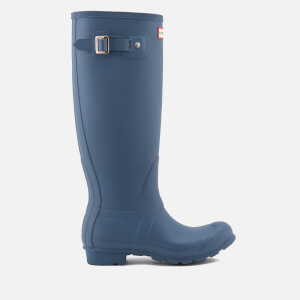 Hunter Women's Original Tall Wellies - Dark Earth Blue
