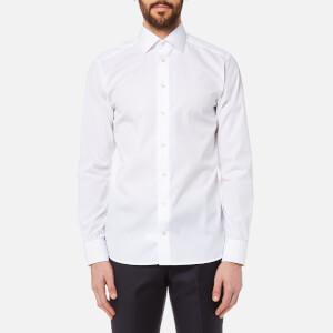 Eton Men's Slim Fit Cut Away Collar Single Cuff Shirt - White