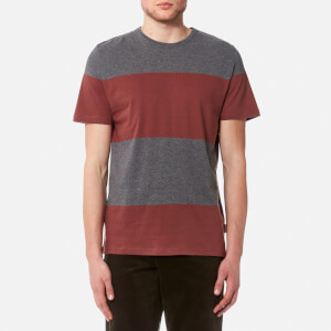 Oliver Spencer Men's Conduit T-Shirt - Grey/Pink