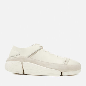 Clarks Originals Men's Trigenic Evo Leather Trainers - White
