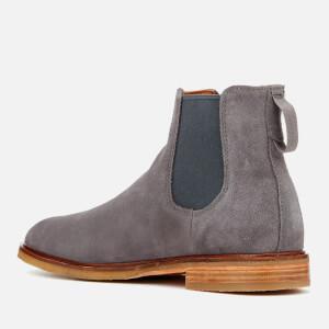 Clarks Men's Clarkdale Gobi Suede Chelsea Boots - Grey: Image 4