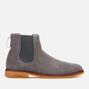 Clarks Men's Clarkdale Gobi Suede Chelsea Boots - Grey