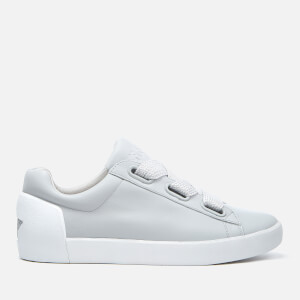 Ash Women's Nina Nappa Leather Low Top Trainers - Pearl