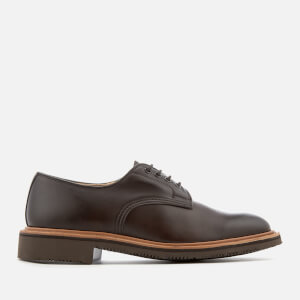 Tricker's Men's Alvin Leather Derby Shoes - Brown