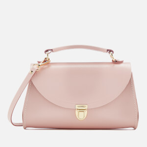 The Cambridge Satchel Company Women's Mini Poppy Bag - Peach Pink Saffiano