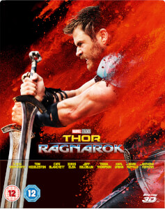 Thor Ragnarok 3D (Includes 2D Version) - Zavvi Exclusive Limited Edition Steelbook