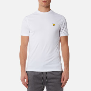 Lyle & Scott Men's Peters T-Shirt with Mesh Panels - White