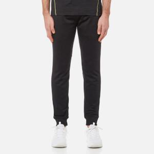 Lyle & Scott Men's Greene Slim Fit Fleece Track Pants - True Black