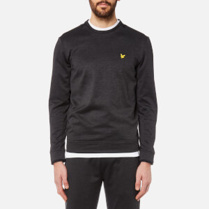 Lyle & Scott Men's Byrne Training Crew Sweatshirt - True Black