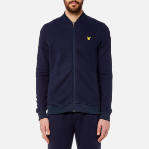 Lyle & Scott Men's James Knitted Midlayer Fleece - Navy