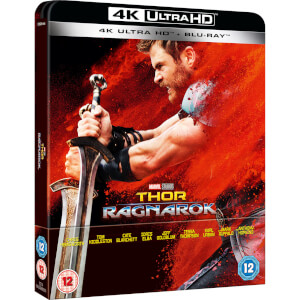 Thor: Ragnarok - 4K Ultra HD (Including 2D Blu-ray) - Zavvi Exclusive Limited Edition Steelbook
