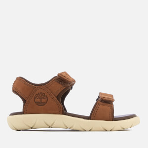 Timberland Toddlers' Nubble 2 Strap Leather Sandals - Cappuccino Nubuck