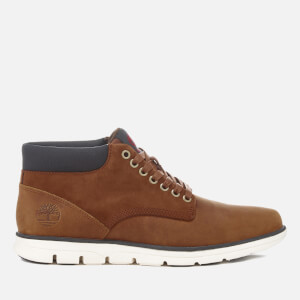 Timberland Men's Bradstreet Leather Chukka Boots - Red Brown