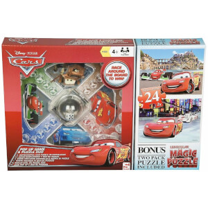 Cars Pop Up & Puzzle Set